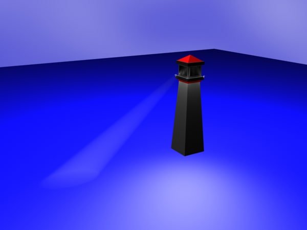 free security tower 3d model