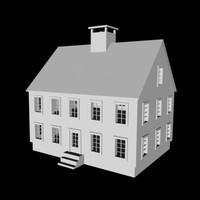 house building 3d 3ds