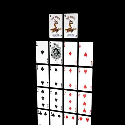 cards golden nugget 3d model