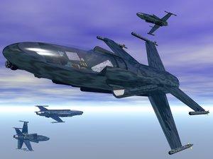 fast jet 3d model