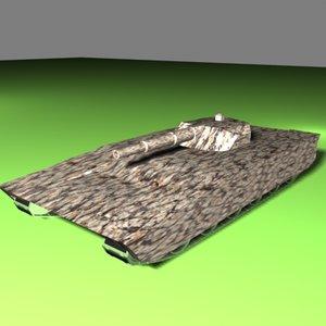 tank future systems 3d max