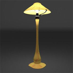 x nouveau lamp