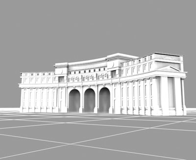 3d admiralty arch palace london landmarks