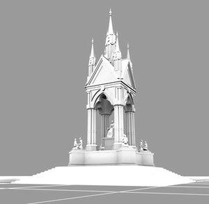 max prince albert memorial monuments