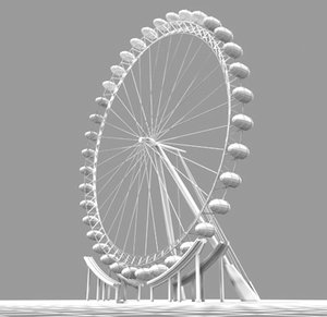observation wheel max