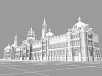 victoria albert v london landmarks 3d max