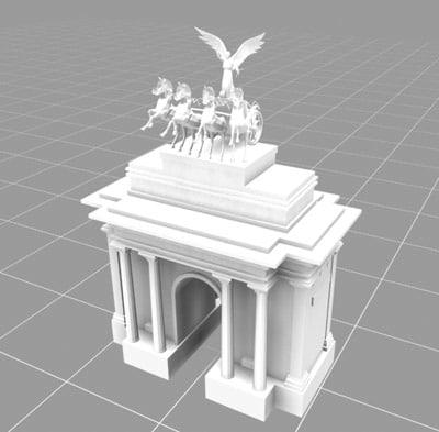 monumental london landmarks max