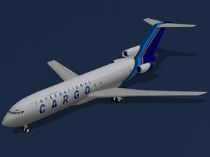 b 727-200 f international 3d 3ds