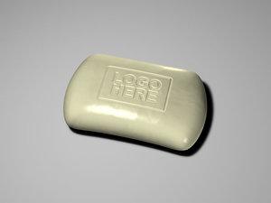 soap bar 3d model