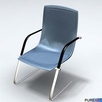 office furniture chair armchair sofa 3d model