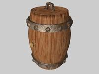 c4d old barrel