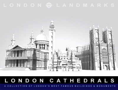 cathedrals london 3d model