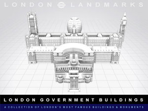 3ds max hq buildings london government