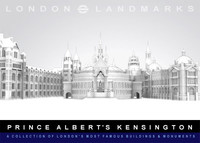 3d model prince kensington buildings albert