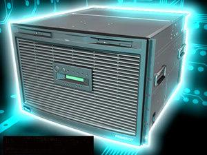 3d model server computers