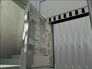 computers server 3d model