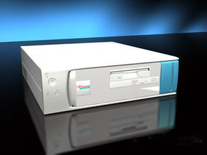 3d desktop computer model