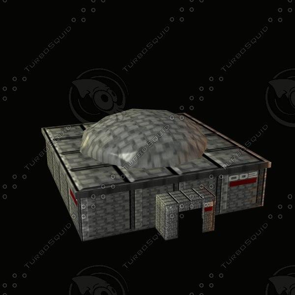 future- sci-fire 3d