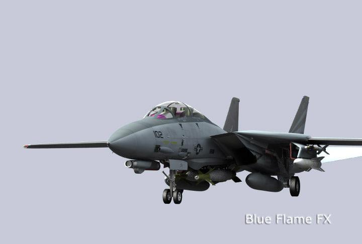 navy tomcat 3d model