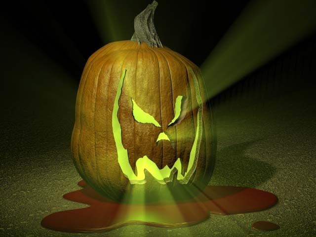 c4d evil pumpkin