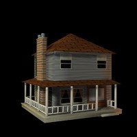 house structure obj