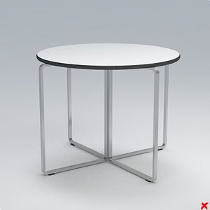 free 3ds model table occasional