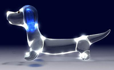 dachshund glass 3d dxf