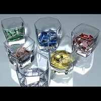 3d max liquor glasses