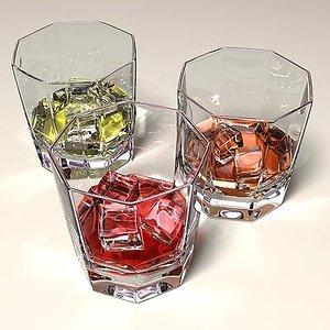 maya glass whiskey drink