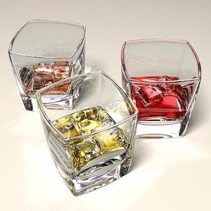 glass liquid 3d max