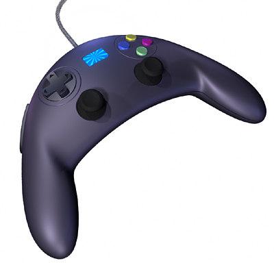 controller pad 3d model