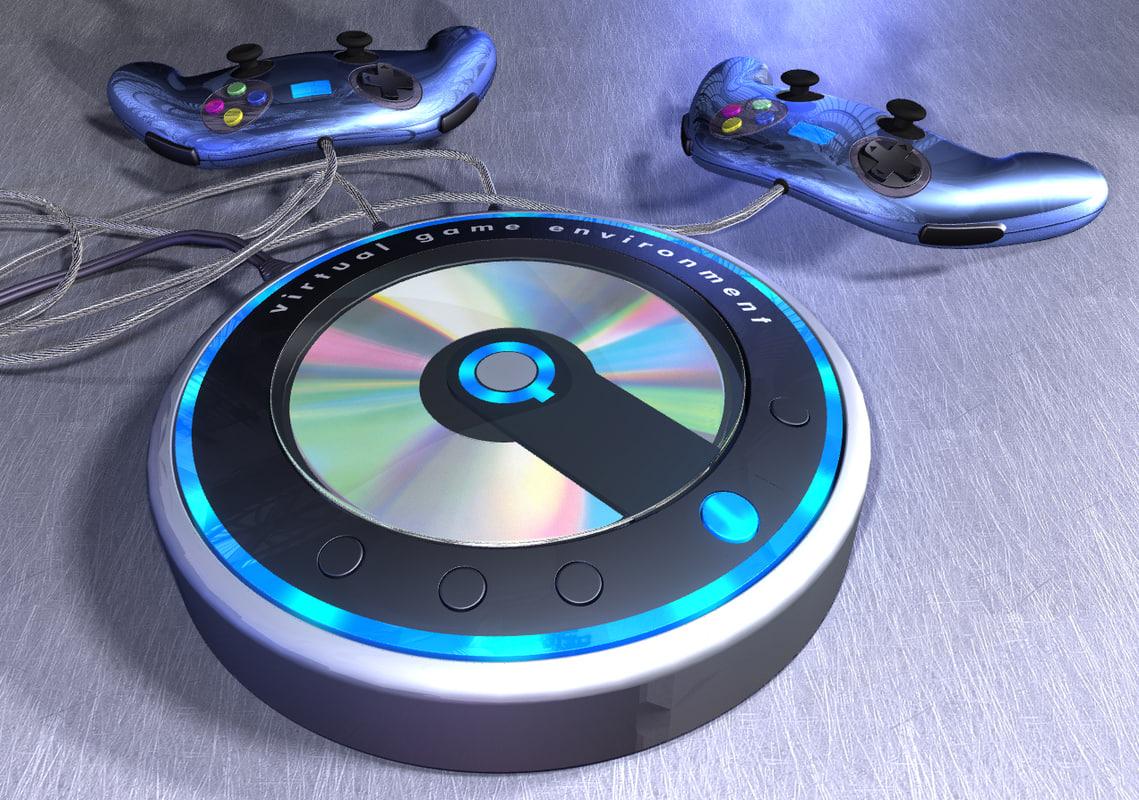 controller player 3d model