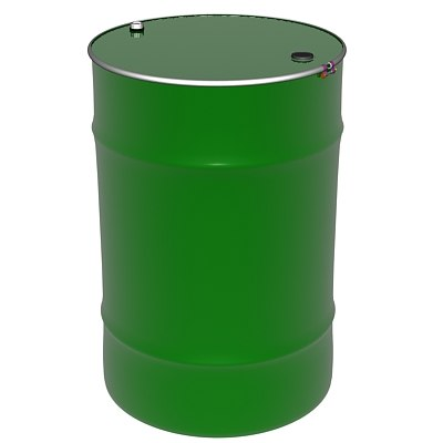 50 gallon drum 3d model