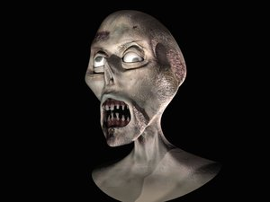 free zombie 3d model