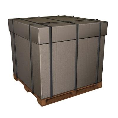 cardboard box dxf