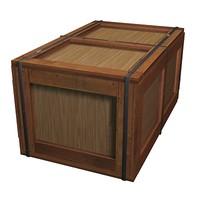 3d model box parcel