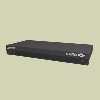 hubs routers 3d max