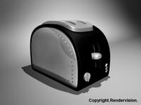 toaster c4d