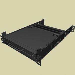 3d monitor model