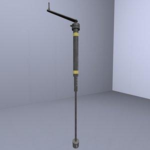 hand crank drill 3d model
