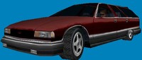chevrolet wagon real-time 3d 3ds