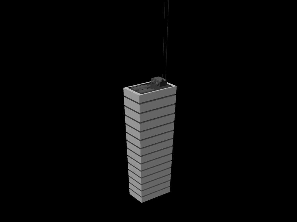 3d model skyscraper building