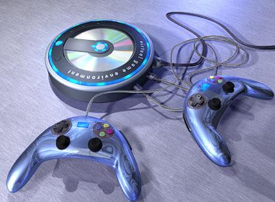 3d video controllers studiotools model