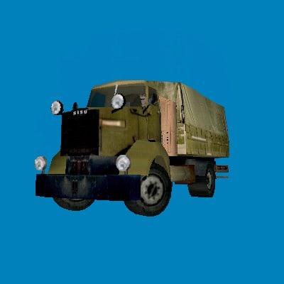 3ds max sisu truck