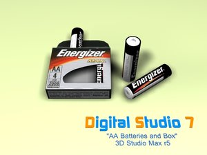 3d aa batteries