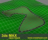 free race track 3d model