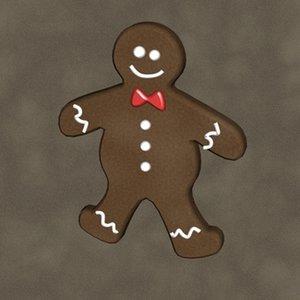 3d model gingerbread man zipped