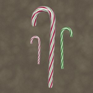 3dsmax candycanes zipped