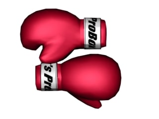3ds max boxing gloves
