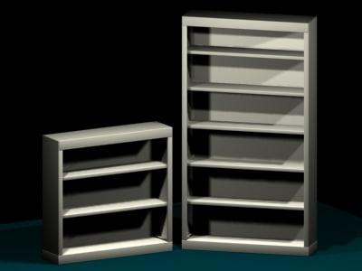 book shelf 3d 3ds